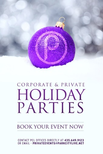 Corporate & Private Holiday Parties
