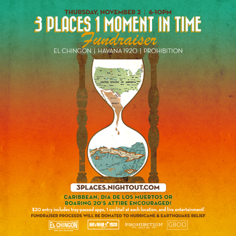 3 Places 1 Moment in Time Fundraiser