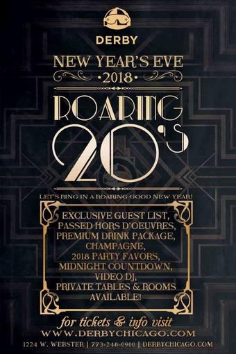 Derby NYE: Roaring 20s