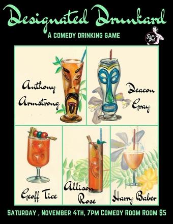 Designated Drunkard November