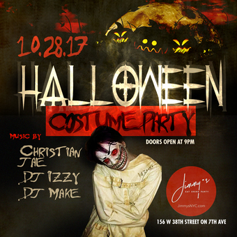 Halloween Weekend Saturday at Jimmy's Dowtown