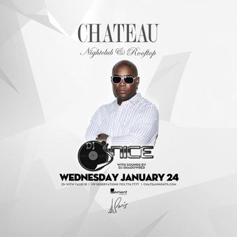 Chateau Wednesdays with DJ J-Nice