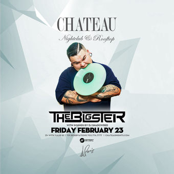 Chateau Fridays with DJ Bigster