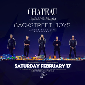 Chateau Saturdays with DJ P-Jay