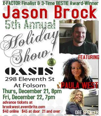 Jason Brock's 5th Annual Holiday Show