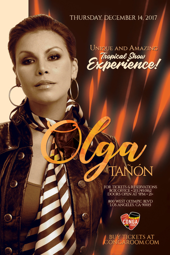 Conga Room presents Olga Tañon