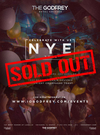 New Years Eve 2018 I|O at The Godfrey Hotel Chicago