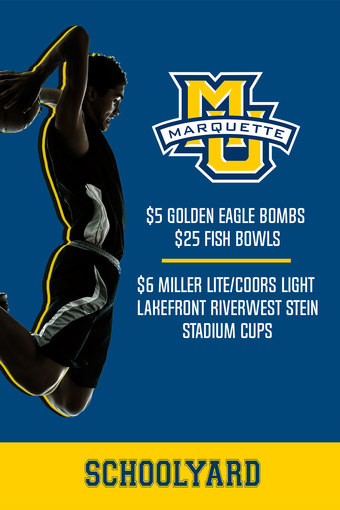 Marquette Game Day Specials