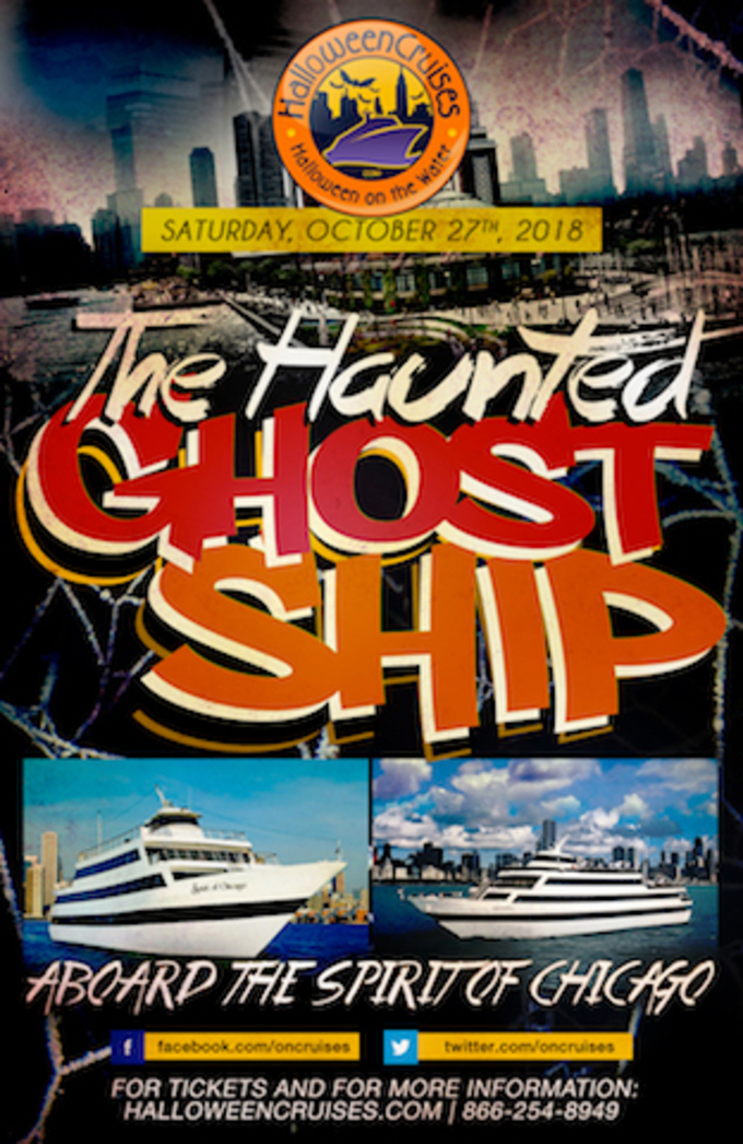 The 4th Annual Midnight Haunted Ghost Ship Aboard the Spirit of Chicago Yacht