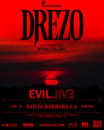 Insomniac Presents: Drezo at EOS Lounge 2.18.18