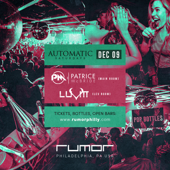 Automatic Saturdays ft. Patrice McBride & Giuliano Presta