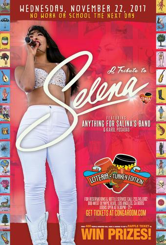 Loteria-Turkey Edition with Selena Tribute