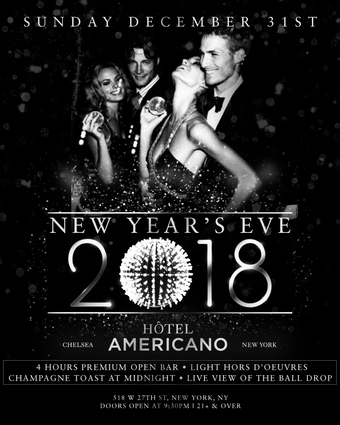 New Year's Eve at Hotel Americano Rooftop