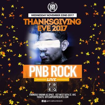 Thanksgiving Eve Bash at FREQ (Space Ibiza)