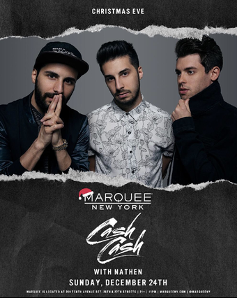 Christmas Eve Bash at Marquee NY ft. Cash Cash & Nathen