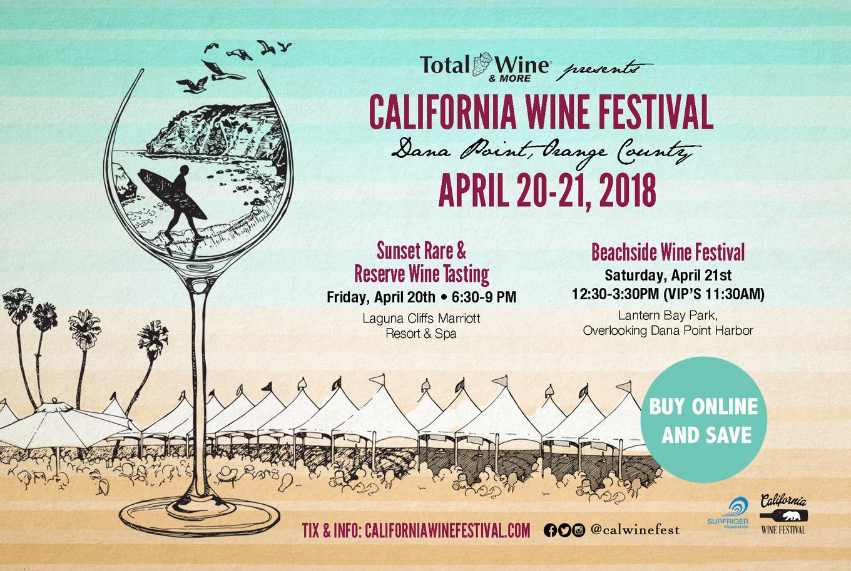 California Wine Festival Orange County In Dana Point April 20 21