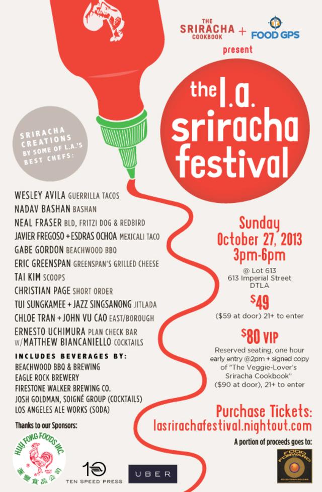 L.A. Sriracha Festival