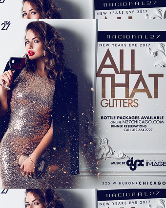 All That Glitters New Years Eve 2018