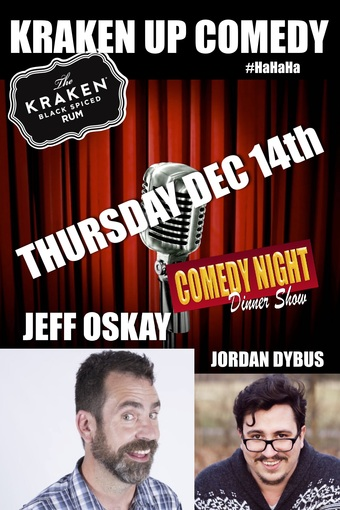 KRAKIN UP COMEDY DINNER SHOW AT Skooter's Roadhouse