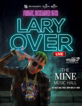 Lary Over - Ladies Free - The Mine (Formally Transit)
