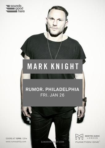 Mark Knight at Rumor