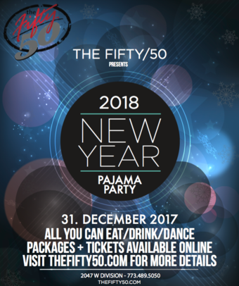 New Year's Eve Pajama Party at the 50