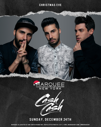 Cash Cash - NYC's #1 X-Mas Eve