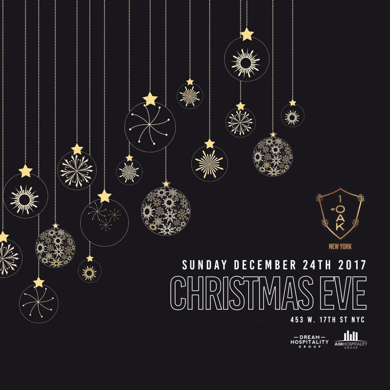 christmas eve at 1oak 2017