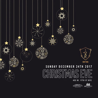 Christmas Eve at 1Oak 2017