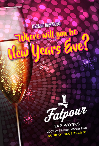 New Year's Eve 2018: Fatpour Tap Works