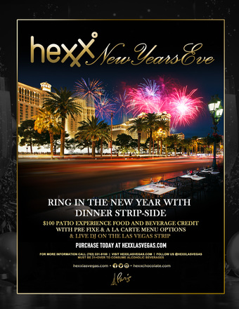 Hexx New Years Eve Patio Experience
