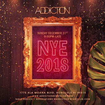 Addiction NYE 2018