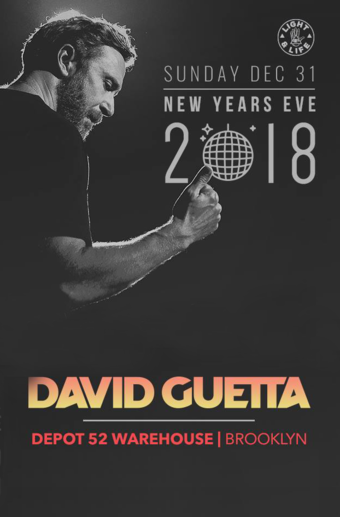 David Guetta New Years Eve 2018 in NYC