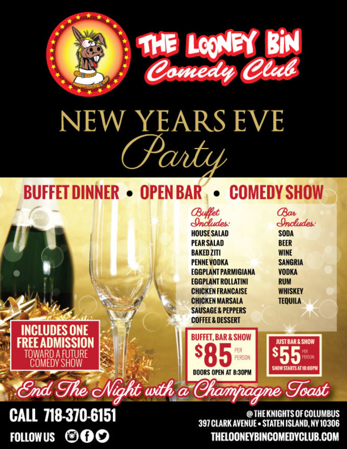 Staten Island: New Year's Eve Comedy