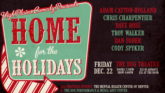 High Plains Presents Home for the Holidays: A Fundraiser