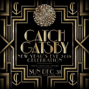 New Year's Eve GATSBY Party at CATCH Rooftop