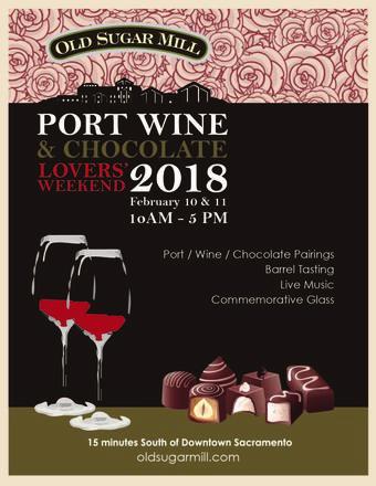 Port, Wine & Chocolate Lover's Weekend 2018