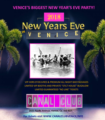 Canal Club Venice Beach 2018 New Year's Eve Party