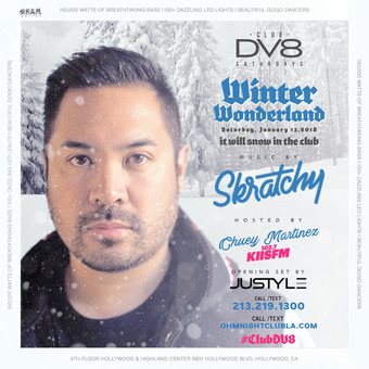CLUB DV8's Winter Wonderland Party with DJ Skratchy