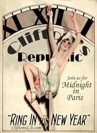 12/31 Midnight in Paris NYE Celebration