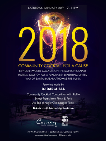 2018 Kick Off: Community Cocktail For a Cause: a Thomas Fire & Flood Benefit