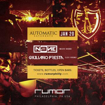 Automatic Saturdays w/ DJ N9NE & Giuliano Presta