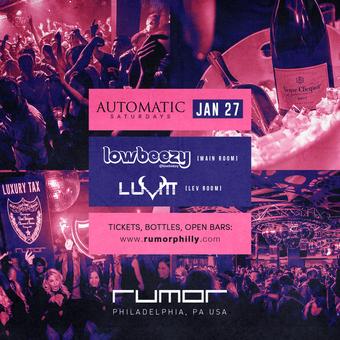 Automatic Saturdays w/ Lowbudget & LuVitt