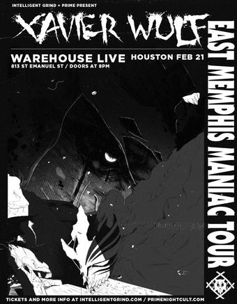 Xavier Wulf - East Memphis Manic Tour (Houston)