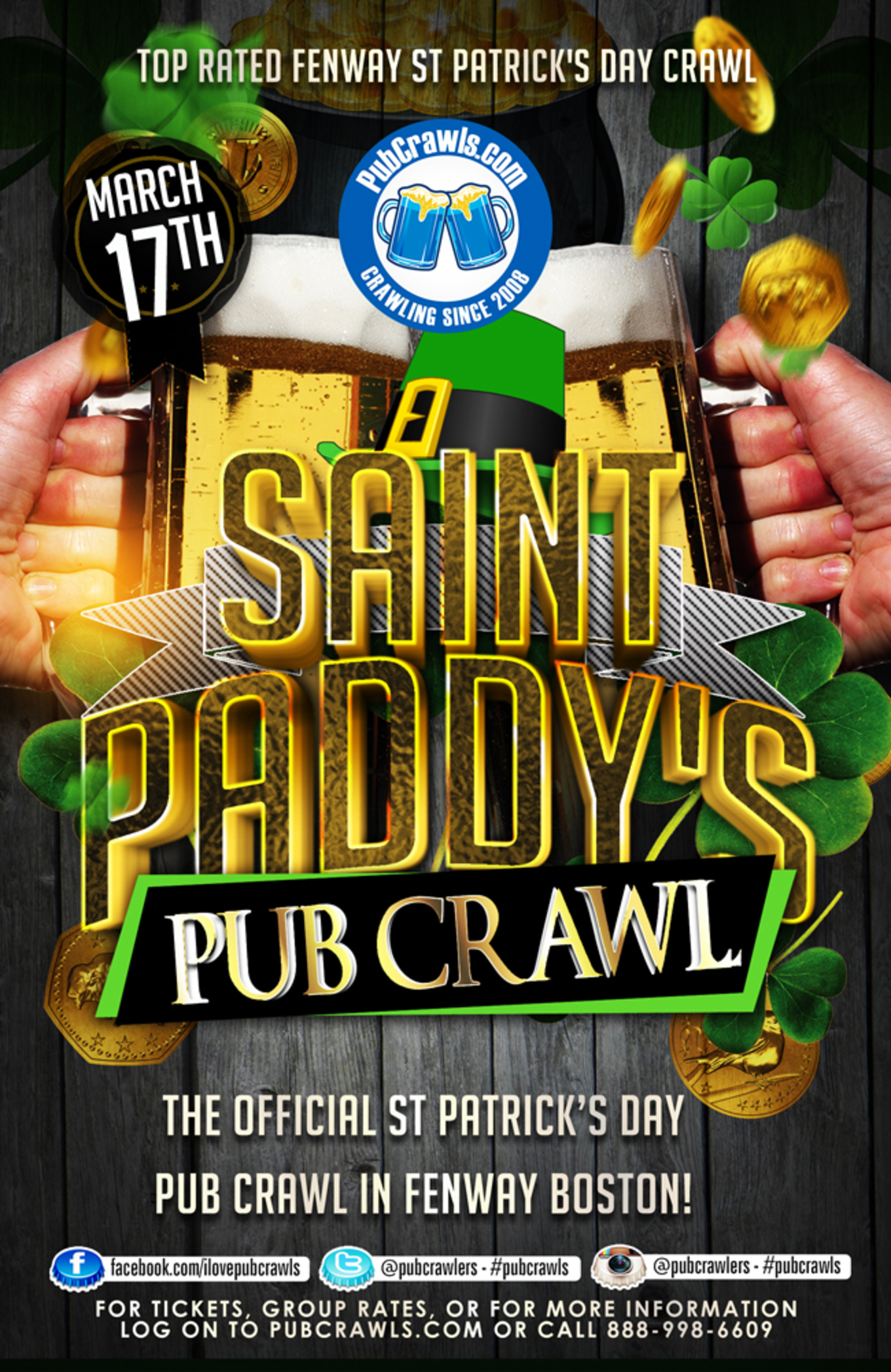 St Paddy s Weekend Pub Crawl Boston (Fenway) - Tickets - Boston (Fenway) 748550cf0
