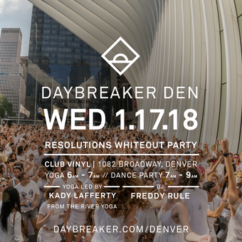 Daybreaker: RESOLUTIONS WHITEOUT PARTY