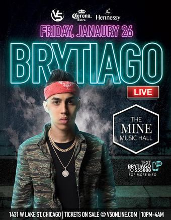 Brytiago - The Mine Music Hall - 21+