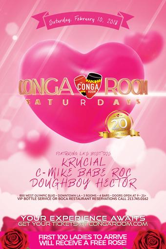 Conga Room Saturdays