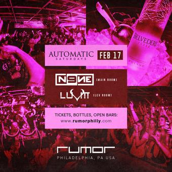 Automatic Saturdays w. DJ N9NE & LuVitt