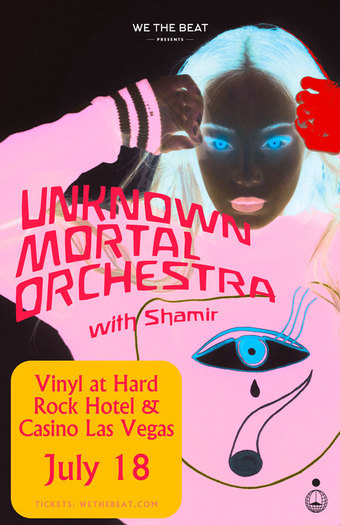 Unknown Mortal Orchestra w/ Shamir - Las Vegas, NV